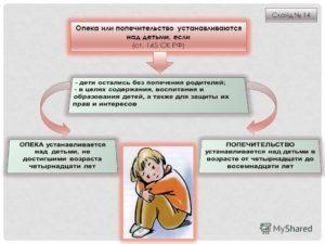 Временное опекунство над ребенком: тонкости процесса