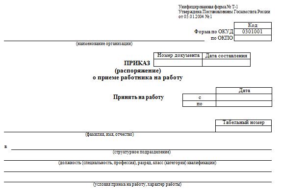 Журнал регистрации приказов по личному составу: особенности заполнения