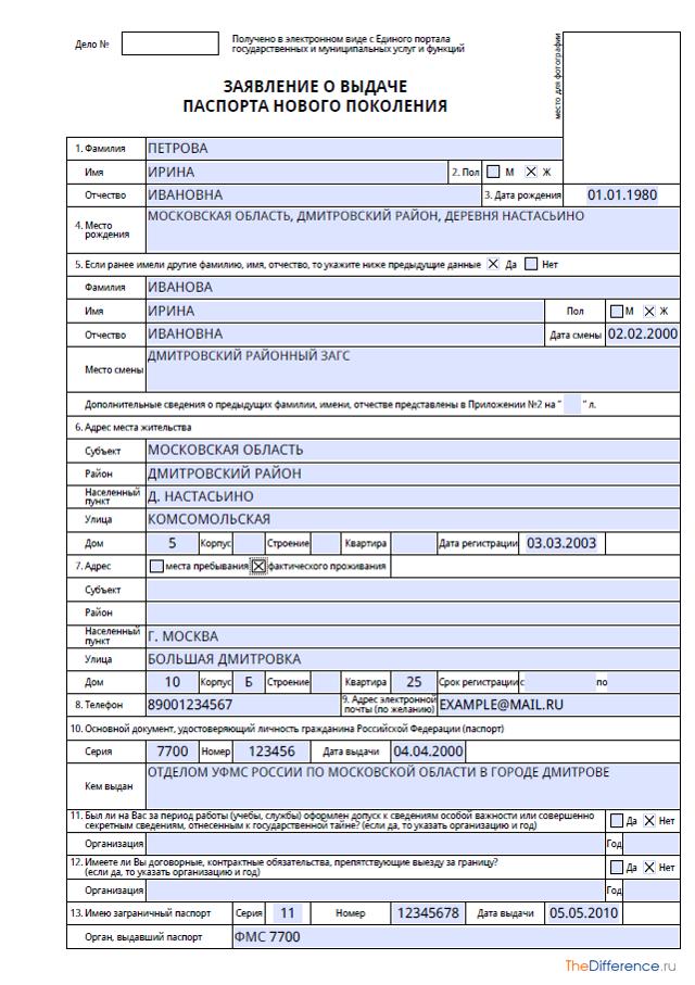 Документы на загранпаспорт: собираем необходимые