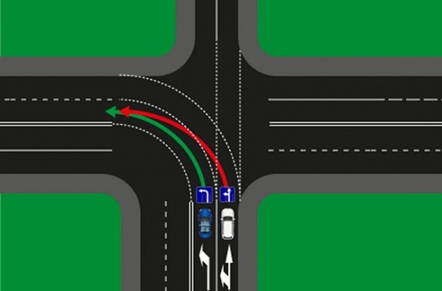 Разворот на перекрестке с односторонним движением: что нужно знать об особенностях этого маневра на дороге