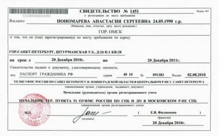 Где получить временную регистрацию: особенности оформления