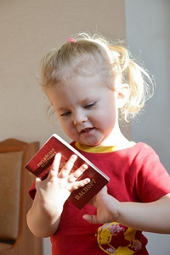 Что необходимо для оформления загранпаспорта на ребенка