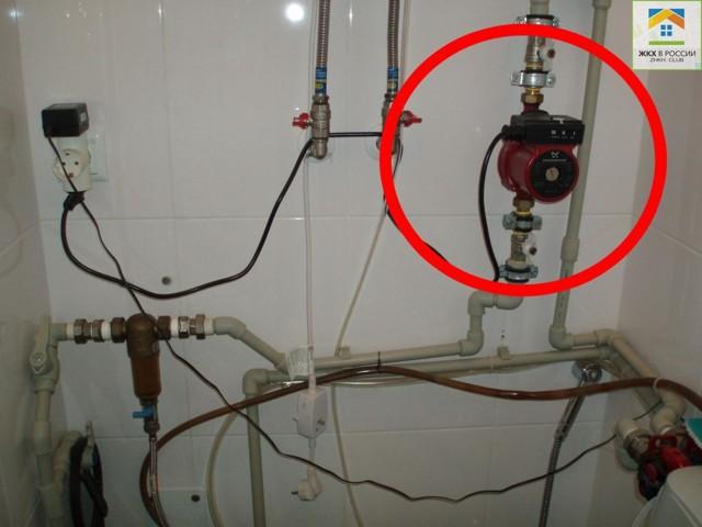 Что делать, если напор воды в квартире слабый?