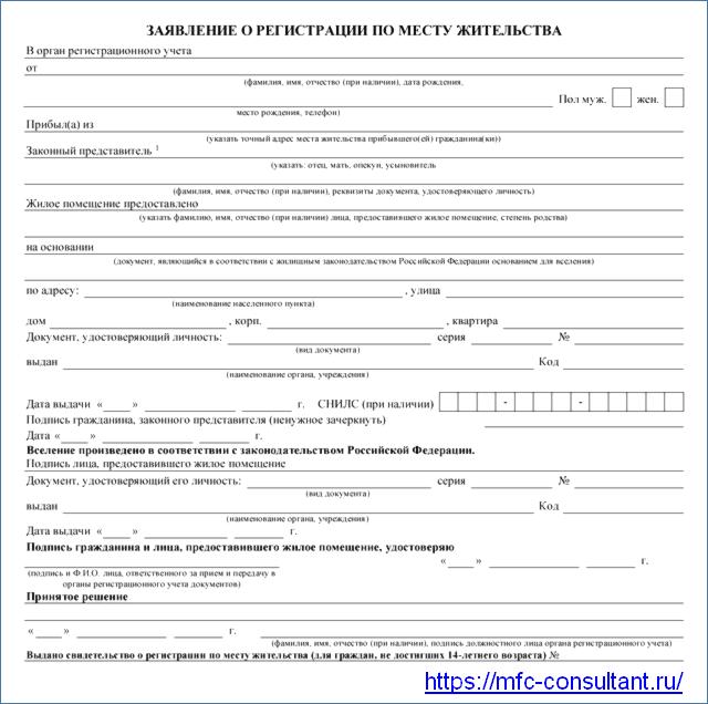 Документы для прописки в квартиру: какой перечень документов необходим для прописки в квартиру?