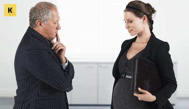 Может ли работодатель уволить беременную женщину? Беременность как причина увольнения?