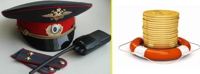 Какая материальная помощь сотруднику полиции положена?