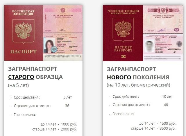 Документы для получения загранпаспорта нового образца и особенности процесса